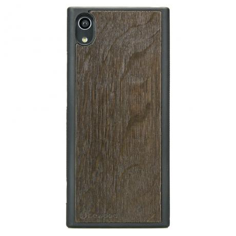 Drewniane Etui Sony Xperia XA1 DĄB WĘDZONY