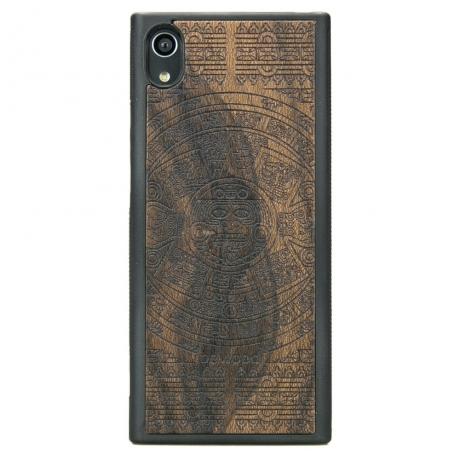 Drewniane Etui Sony Xperia XA1 KALENDARZ AZTECKI ZIRICOTE