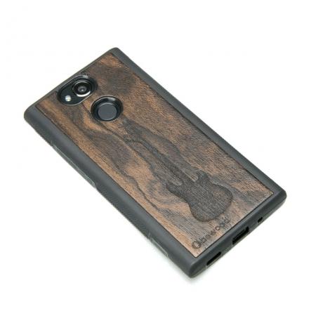 Drewniane Etui Sony Xperia XA2 GITARA ZIRICOTE