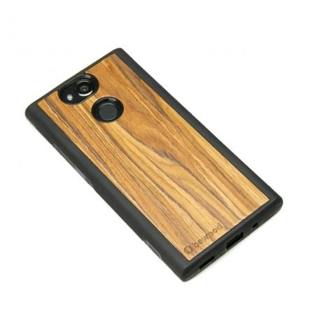 Drewniane Etui Sony Xperia XA2 OLIWKA
