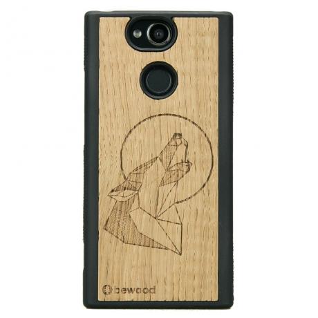 Drewniane Etui Sony Xperia XA2 WILK DĄB