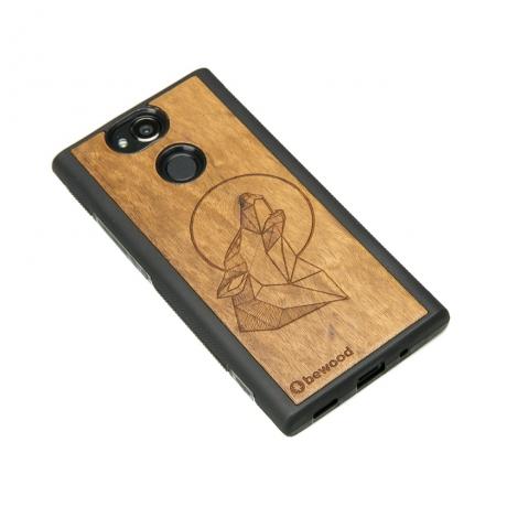 Drewniane Etui Sony Xperia XA2 WILK IMBUIA