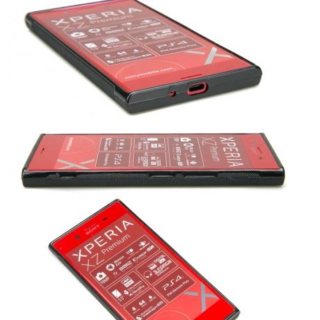 Drewniane Etui Sony Xperia XZ Premium WILK IMBUIA