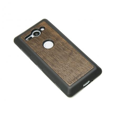Drewniane Etui Sony Xperia XZ2 Compact DĄB WĘDZONY