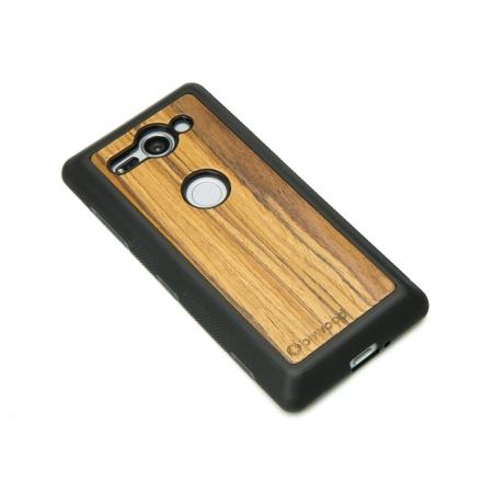 Drewniane Etui Sony Xperia XZ2 Compact OLIWKA