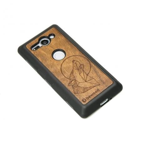 Drewniane Etui Sony Xperia XZ2 Compact WILK IMBUIA