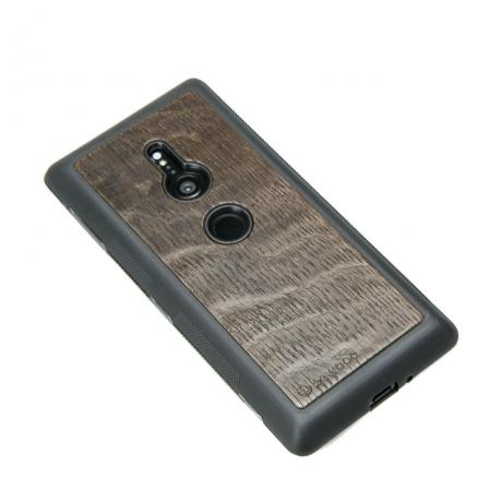 Drewniane Etui Sony Xperia XZ2 DĄB WĘDZONY