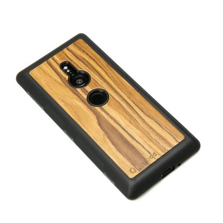 Drewniane Etui Sony Xperia XZ2 OLIWKA