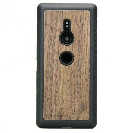 Drewniane Etui Sony Xperia XZ2 ORZECH AMERYKAŃSKI