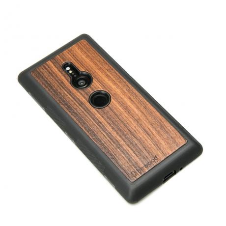 Drewniane Etui Sony Xperia XZ2 PALISANDER SANTOS