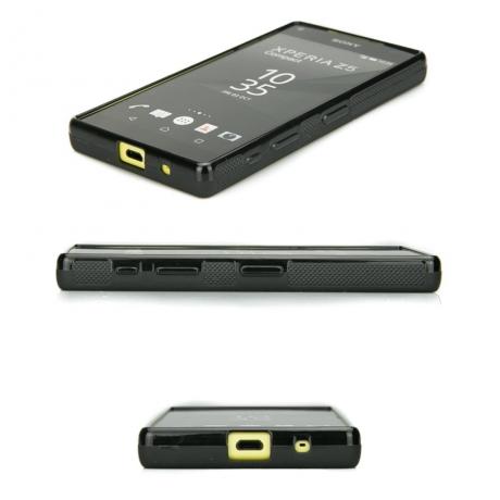 Drewniane Etui Sony Xperia Z5 Compact RÓŻA WIATRÓW MERBAU BIELONA