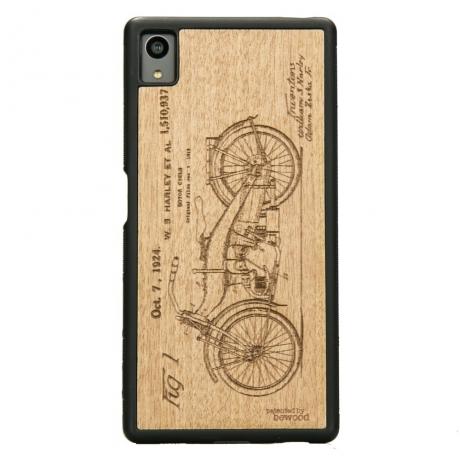 Drewniane Etui Sony Xperia Z5 HARLEY PATENT ANIEGRE