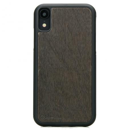 Drewniane Etui iPhone XR DĄB WĘDZONY
