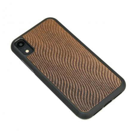 Drewniane Etui iPhone XR FALE MERBAU