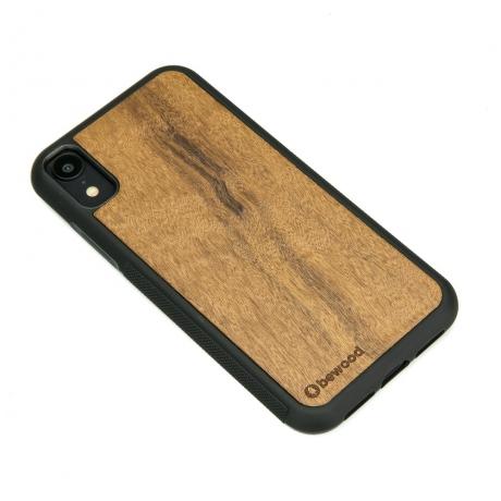 Drewniane Etui iPhone XR IMBUIA
