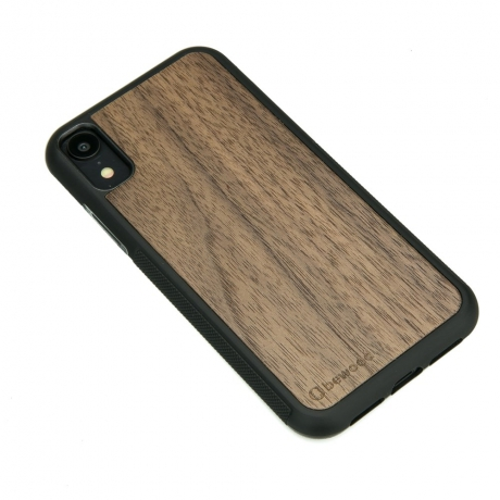 Drewniane Etui iPhone XR ORZECH AMERYKAŃSKI