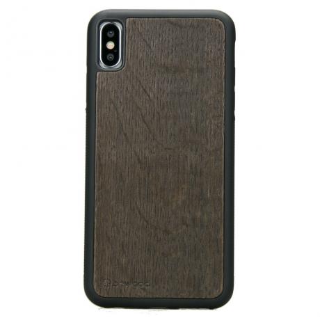 Drewniane Etui iPhone XS Max DĄB WĘDZONY