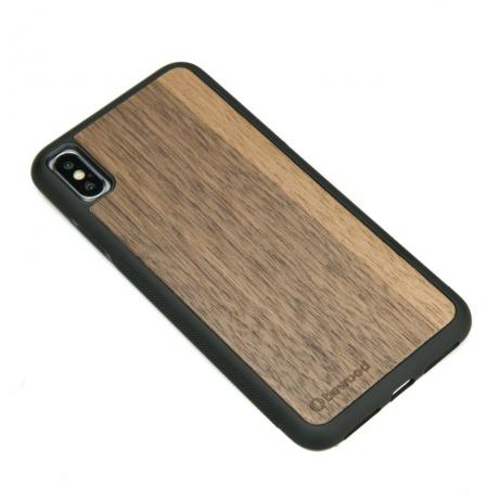 Drewniane Etui iPhone XS Max ORZECH AMERYKAŃSKI
