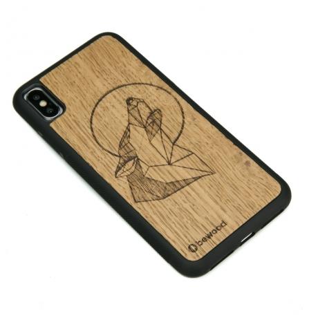 Drewniane Etui iPhone XS Max WILK DĄB