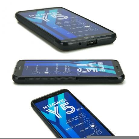Drewniane Etui Huawei Y5 2018 MANDALA JABŁOŃ