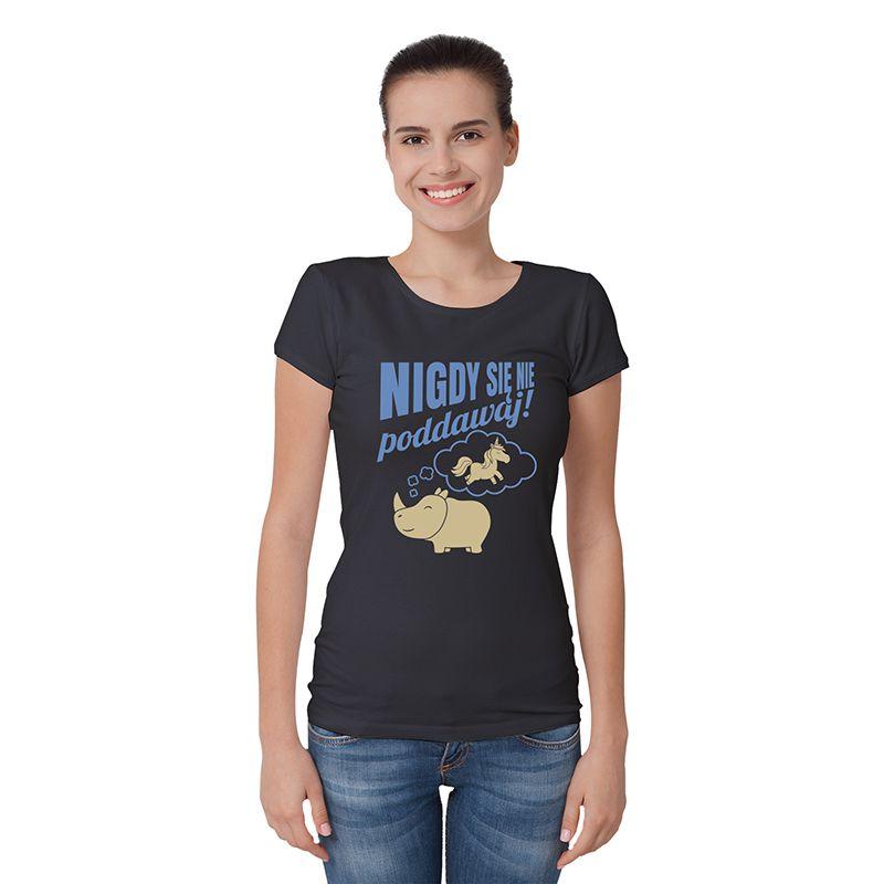 Koszulka z jednorożcem (unicorn) i nosorożcem | Zmotywuj każdego!