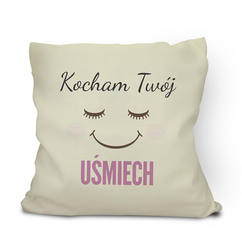 Poduszka z uśmiechem ( uśmiechnięta poduszka ) personalizowana