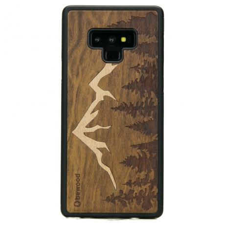 Drewniane Etui Samsung Galaxy Note 9 GÓRY IMBUIA