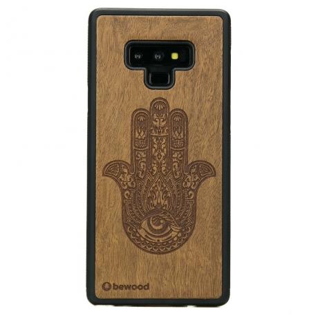 Drewniane Etui Samsung Galaxy Note 9 HAMSA IMBUIA