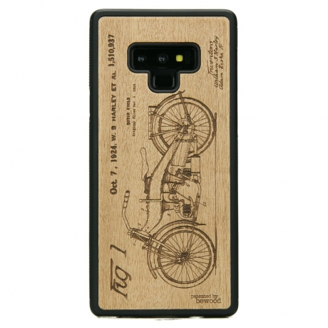 Drewniane Etui Samsung Galaxy Note 9 HARLEY PATENT ANIEGRE