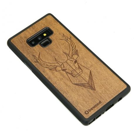 Drewniane Etui Samsung Galaxy Note 9 JELEŃ IMBUIA