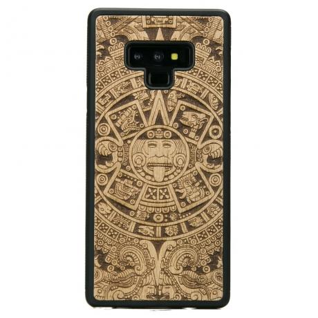 Drewniane Etui Samsung Galaxy Note 9 KALENDARZ AZTECKI ANIEGRE