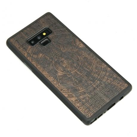 Drewniane Etui Samsung Galaxy Note 9 KALENDARZ AZTECKI ZIRICOTE