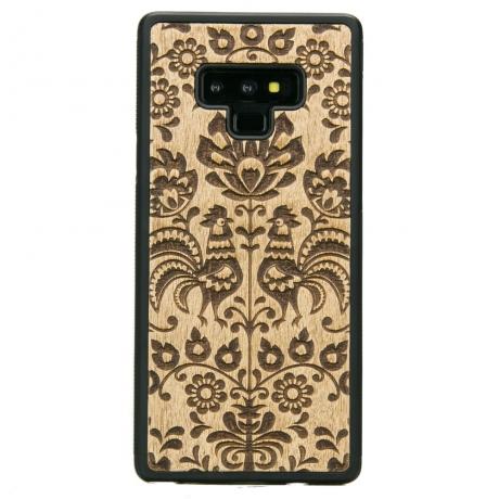 Drewniane Etui Samsung Galaxy Note 9 POLSKI FOLK ANIEGRE