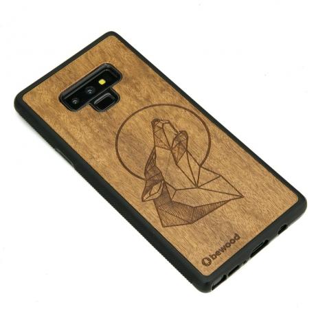 Drewniane Etui Samsung Galaxy Note 9 WILK IMBUIA