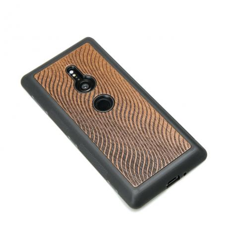 Drewniane Etui Sony Xperia XZ3 FALE MERBAU
