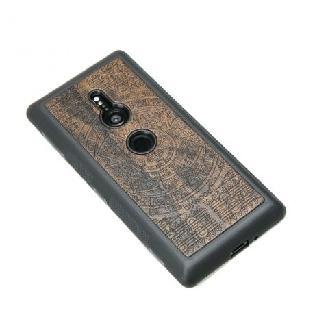 Drewniane Etui Sony Xperia XZ3 KALENDARZ AZTECKI ZIRICOTE