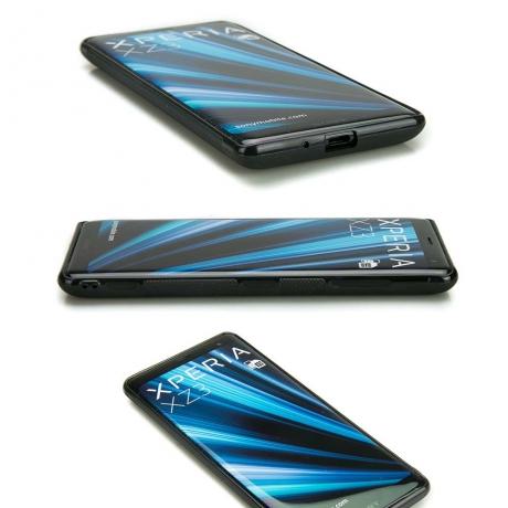 Drewniane Etui Sony Xperia XZ3 MANDALA JABŁOŃ