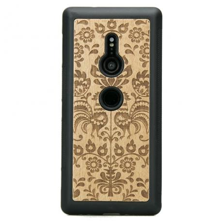 Drewniane Etui Sony Xperia XZ3 POLSKI FOLK ANIEGRE