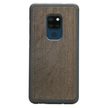 Drewniane Etui Huawei Mate 20 DĄB WĘDZONY
