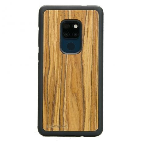 Drewniane Etui Huawei Mate 20 OLIWKA