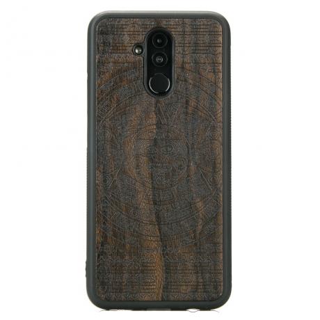 Drewniane Etui Huawei Mate 20 Lite KALENDARZ AZTECKI ZIRICOTE