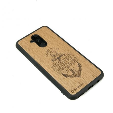 Drewniane Etui Huawei Mate 20 Lite KOTWICA DĄB
