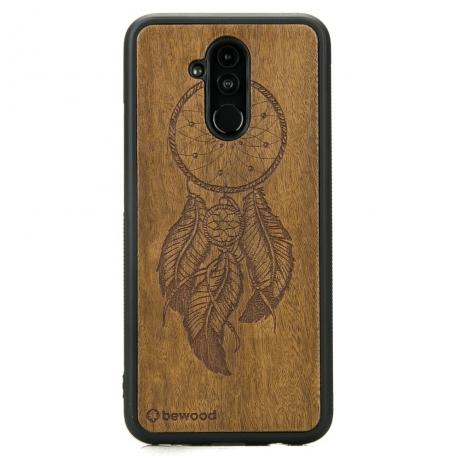Drewniane Etui Huawei Mate 20 Lite ŁAPACZ SNÓW IMBUIA