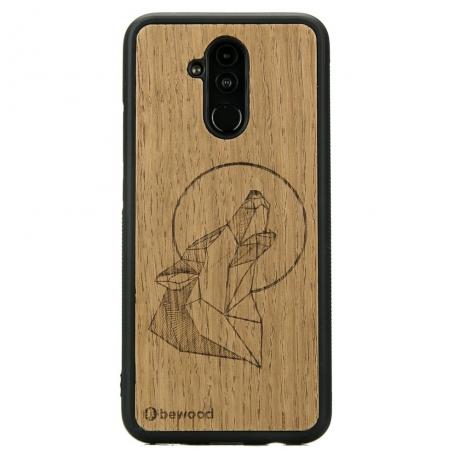 Drewniane Etui Huawei Mate 20 Lite WILK DĄB