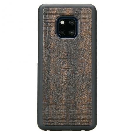 Drewniane Etui Huawei Mate 20 Pro KALENDARZ AZTECKI ZIRICOTE