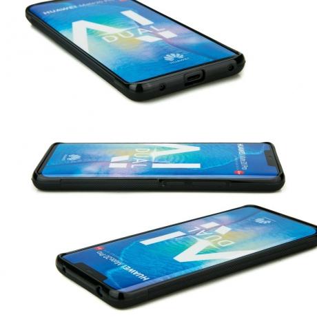 Drewniane Etui Huawei Mate 20 Pro MANDALA JABŁOŃ