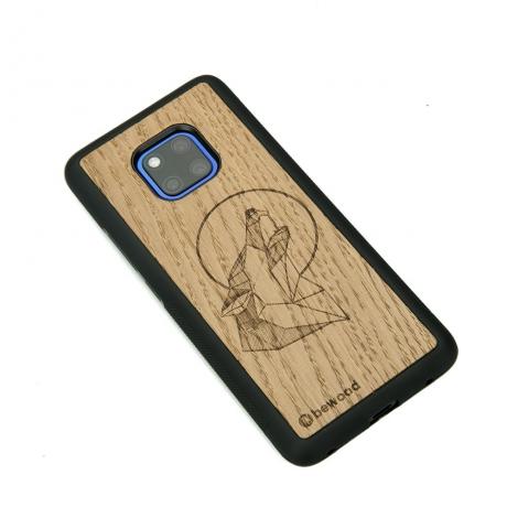 Drewniane Etui Huawei Mate 20 Pro WILK DĄB