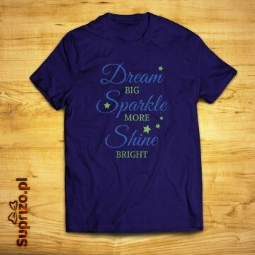 Koszulka z inspirującym nadrukiem dla niej