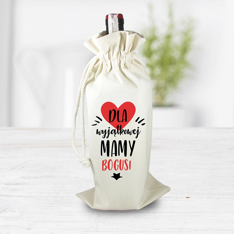 Worek na alkohol dla mamy (personalizowany)