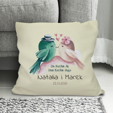Poduszka dla pary zakochanych